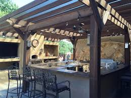 outdoor kitchen design service