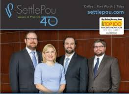 Four SettlePou Attorneys Named in 2019 Texas Super Lawyers Rising Stars    News & Blog   SettlePou
