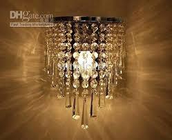wall pendant whole vintage wall crystal chandelier pendant lamp light fixture hot bottle chandelier chandelier