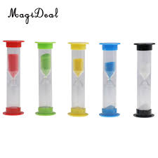 Set A Timer For 10 Minutes Us 4 22 20 Off Magideal 5 Set 30 Seconds 1 3 5 10 Minutes Sandglass Hourglass Timer Clock Countdown Sec Min Clock Timer For Kids Brush Teeth In