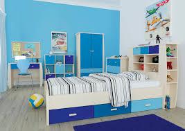 SYDNEY Childrens Multiclour Storage Bedroom Furniture Blue - Sydney bedroom furniture