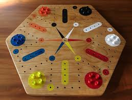 Wooden Aggravation Board Game Cherry Fast Track Aggravation Game Board With Pegs Game boards 15