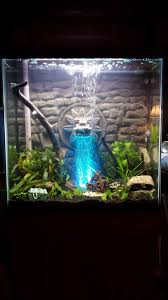 picture of 3d aquarium background quetzalcoatl