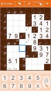 Killer Sudoku Combinations Chart