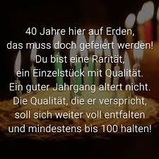 Alles Gute Zum 40 Geburtstag Sprüche Lustig Infogb