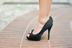 The High heels Pierced