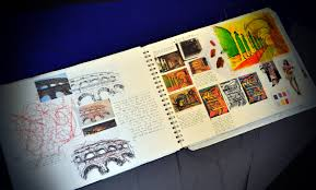 Btec Level 3 Extended Diploma In Art And Design Sketchbook Art Design Fashion By Kotryna Cherry
