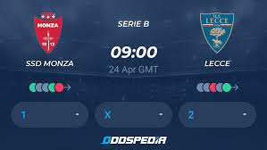 SSD Monza - Lecce » Live Score & Stream + Odds, Stats, News