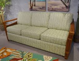 mattress for sleeper sofa. Madison Ultra Queen 8.5 Deep Mattress Sleeper Sofa With Rattan Arms For