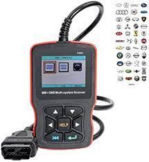 Hym Obd2 Diagnosescanner Für Bmw E46 E39 E90 E60 Scan Bmw Fault Detector Mehrsystem Scanner Codeleser Amazon De Auto