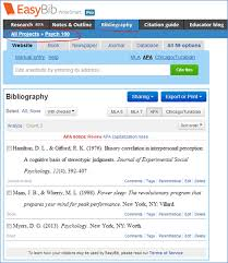easybib bibliography made easy technology for academics easybib bibliography made easy