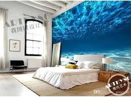 bedroom wall art charming deep sea photo wallpaper custom ocean scenery wallpaper large mural wall painting room decor silk wall art bedroom kids room home