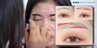 korean natural eyebrow tutorial by liah yoo