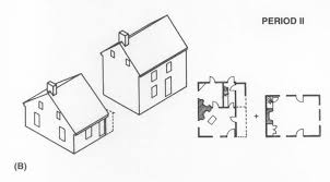 17th century house plans lovely showing the evolution of an 18th century farmhouse