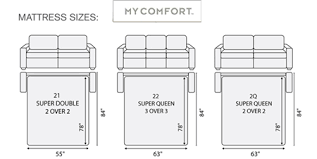 Queen Size Sleeper Sofa Dimensions Architecture