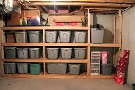 diy storage shelves build shelf for garage