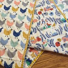 Best 25+ Neutral baby quilt ideas on Pinterest | Baby quilt ... & Organic Gender Neutral Modern Baby Quilt, Chickens, Farming, Toddler Quilt, Gender  Neutral Baby Blanket, Quilted Baby Blanket, Farm Animals Adamdwight.com
