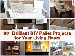 Living Room Diy 20 Brilliant Diy Pallet Projects For Your Living Room