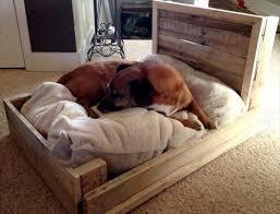 wood dog bed furniture. diy wood pallet dog bed furniture