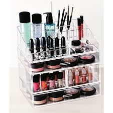Our hand-crafted Luxe Acrylic Modular Tray and Drawers stack securely for  vertical storage. They look gorgeous and hold everything from makeup to  jewelry.