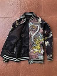 original zara limited edition jan souvenir jacket not gucci