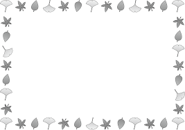 季節の飾り枠秋のフレーム Illframef01cpngダウンロードページ 無料