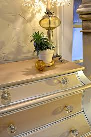 painted furniture makeover gold metallic. DIY How-to Tutorial On Painting Furniture With Both Modern Masters Metallic Paints And Matte Painted Makeover Gold I