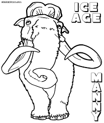 Small Picture Coloring Pages Disney On Ice Coloring Pages Ice Age Coloring