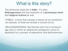the alchemist by paulo coelho ppt video online  what is this story the alchemist reads like a fable it is also bildungsr and