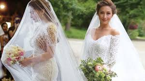 the best celebrity wedding dress moments cosmo ph