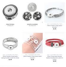 fromocean snap jewelry whole in bulk snap charms bracelets earringsinterchangeable snap jewelry whole from china snap on jewelry whole
