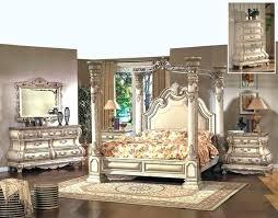luxurious victorian bedroom white furniture. Victorian Bedroom Set Inspired Antique White Poster Canopy Bed Luxury Lexington Oak . Luxurious Furniture S