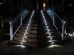 outdoor stairway lighting. Outdoor Stair Lighting Valuable 5 LED Stairway By I | House Plans Garrell