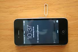 iphone 3 openen voor simkaart