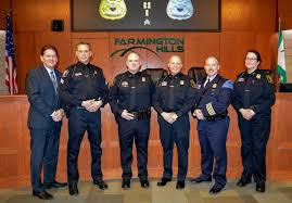 Farmington Hills Police Department promotes five - Farmington Voice