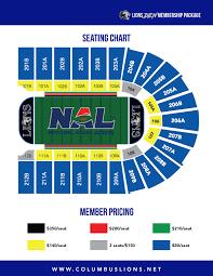 Columbus Ga Civic Center Seating Chart Columbus Lions Seating Chart