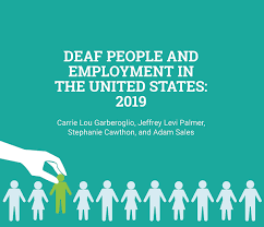 Deaf People And Employment In The United States National
