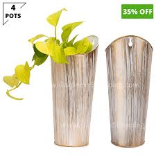 decorative wall hanging planters for