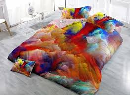 abstract duvet covers. Wonderful Duvet 84 Gorgeous Abstract Colors Print 4Piece Duvet Cover Sets To Covers N