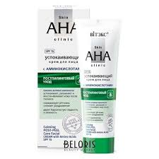 <b>Крем</b> для лица успокаивающий с <b>аминокислотами</b> spf15 Skin aha ...