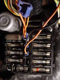 fuse panel layout chevelle tech bottom fuse is gauges fuse