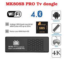 Bluetooth 4 Mini Mk808b Stick 4 Pc Pacoco Dual Android Tv Box RBP5Pq