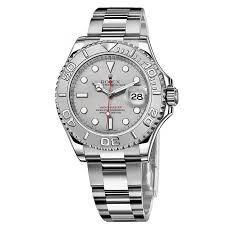 rolex yacht master platinum dial steel and platinum mens watch prev