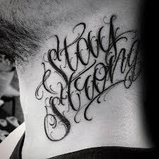 60 Silových Tetování Pro Muže Myšlenkové Návrhy Na Návrh Slov