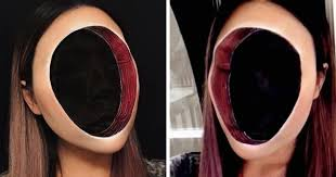 woman gives up teaching to create optical illusions with makeup and it s messing with our minds art