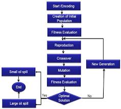 Flow Chart Of Genetic Algorithm Search Pattern For Small And
