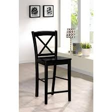 30 in bar stools. Linon Home Decor X Back 30 In. Black Bar Stool In Stools E