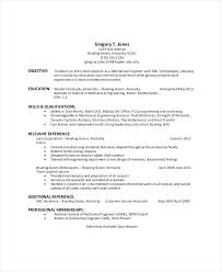 Supervisor Objective For Resume Generic Resume Objective Resume Objectives Samples General 88