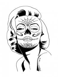 Small Picture Sugar Skull Coloring Pages Http Asyrum Spreadshirt Com Sugar Skull