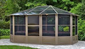 custom pool enclosure hexagon shape. Gazebo Buying Guide - The 50 Best Gazebos For Your Backyard In 2017 |  Safety.com Custom Pool Enclosure Hexagon Shape